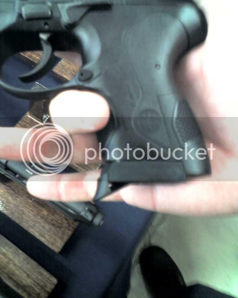 Px4 Storm subcompact finger rest