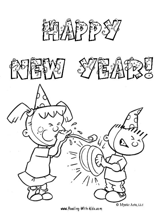happy birthday coloring pages for dad. New year coloring pages