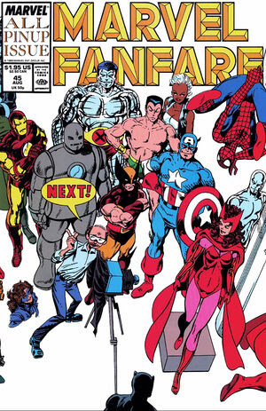 Marvel Fanfare Vol 1 45