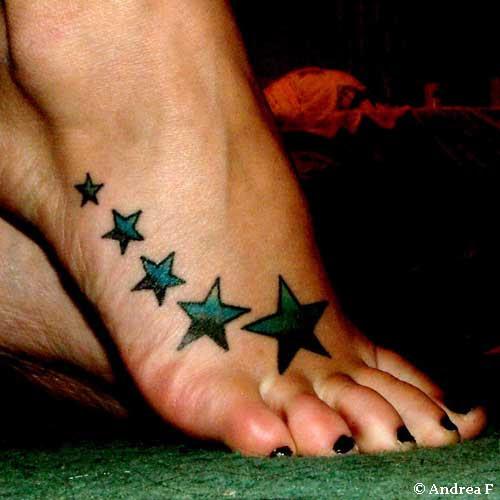 Heart Tattoos On Foot Orelhadoano