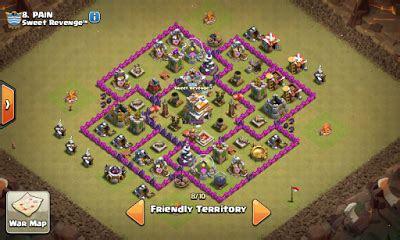 kumpulan formasi base war town hall level  anti dragon