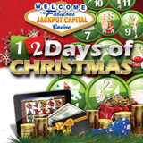 iPad Air is First of Twelve Daily Prizes in Jackpot Capital Mobile Casino Twelve Days of Christmas Giveaway