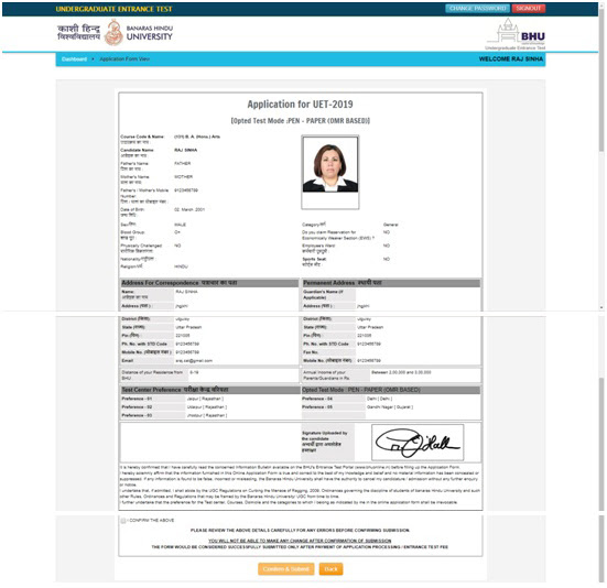 Bhu Application Form 2017 For Law, How To Pay The Entrance Test Fee To Successfully Submit My Application Form S, Bhu Application Form 2017 For Law