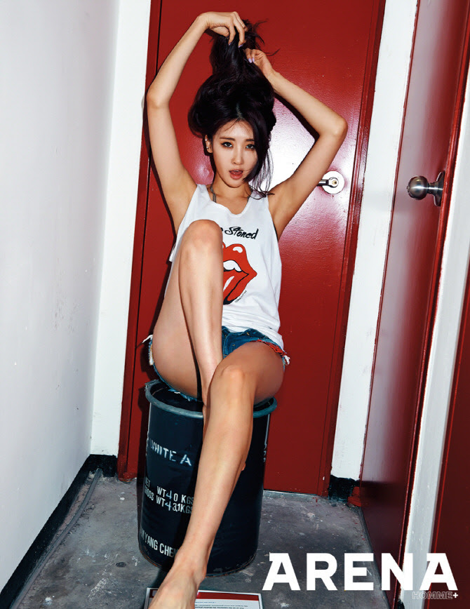 Nine Muses - Arena Homme Plus Magazine April Issue '15