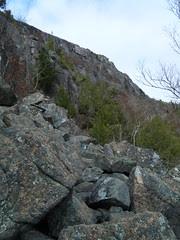 Jordan Cliffs/Penobscot Mountain Hike 11/5/09
