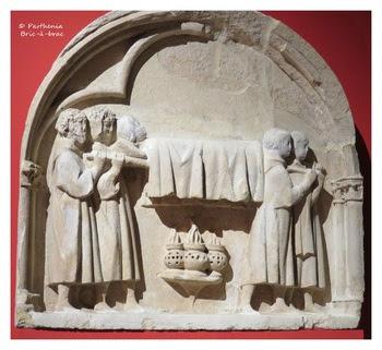 Élément du tombeau de Louis de France