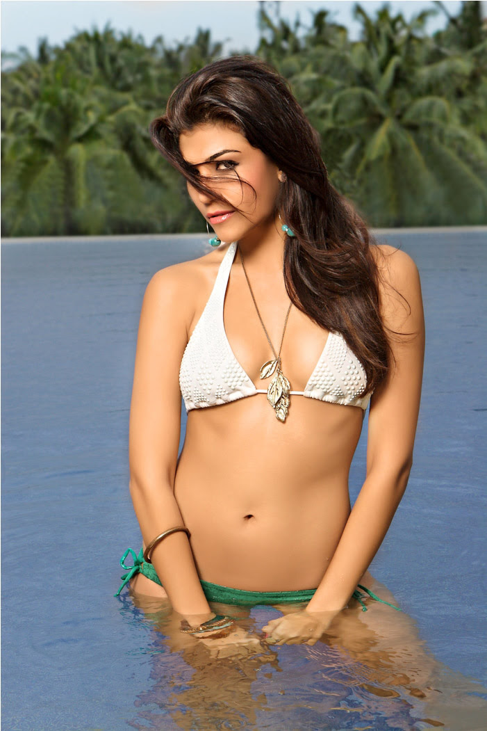 Archana Vijaya Green White Bikini
