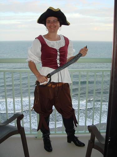 Pirate on Halloween