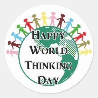 World Thinking Day Sticker