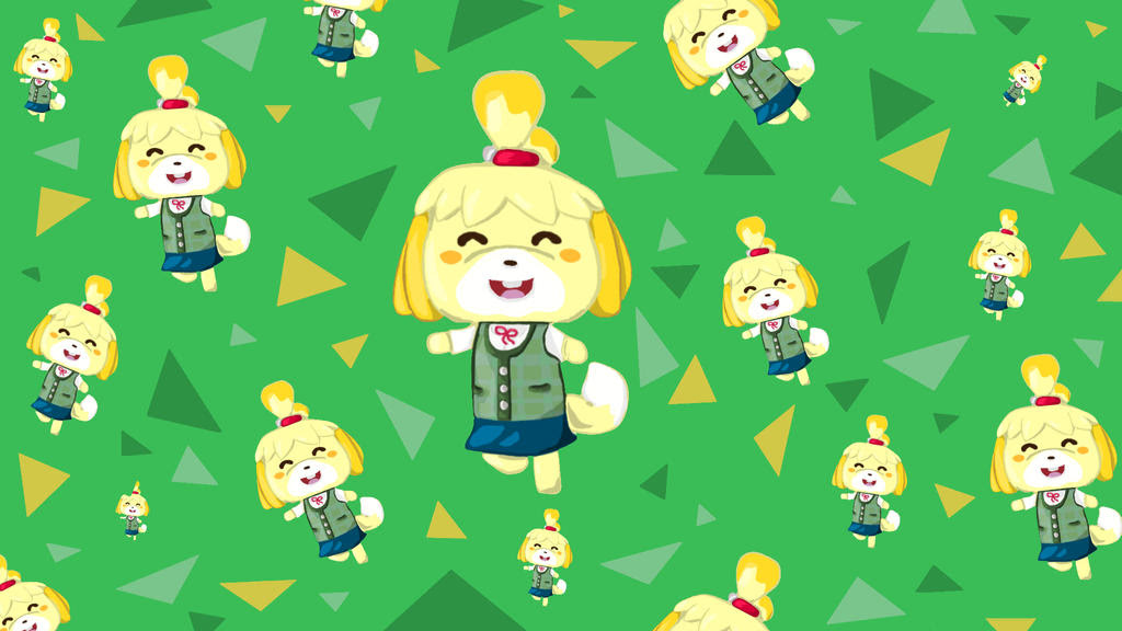 Isabelle Animal Crossing Wallpaper by Totallyhypnosquid on ...