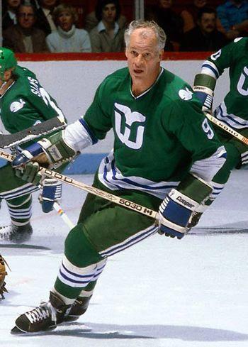 Gordie Howe Whalers NHL, Gordie Howe Whalers NHL