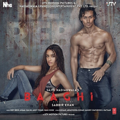 Cham cham MP3 Song Download- Baaghi Songs on Gaana.com