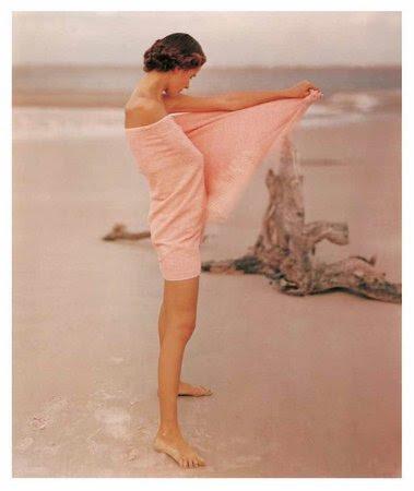 Frances McLaughlin-Gill's Carol McCarlson on the beach, St Augustine, Florida, 1948
