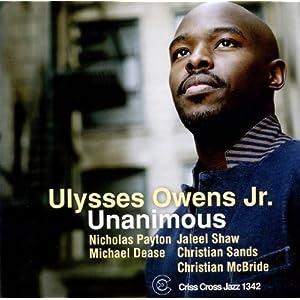 Ulysses Owens Jr  - Unanimous  cover