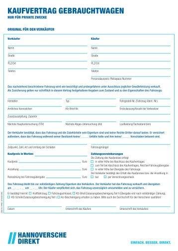 Kaufvertrag Adac Auto Privat