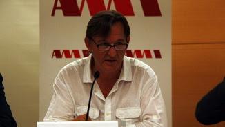 Josep Maria Vila d'Abadal en una compareixença informativa com a president de l'AMI (ACN)