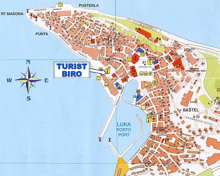 porecs térkép Porecs Térkép | Térkép