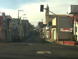 Apagão deixou semáforos inoperantes na capital (Foto: Cau Rodrigues/G1)
