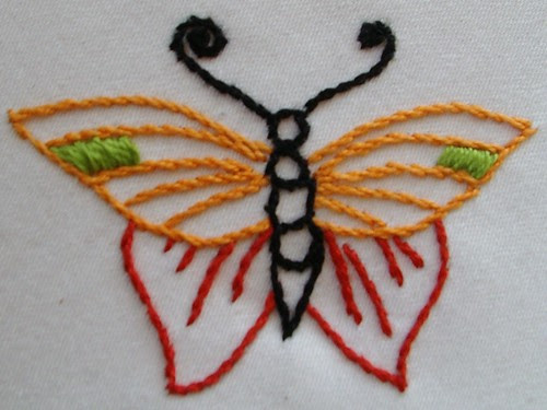 butterfly # 5 for curtain