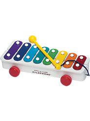 Fisher-Price Pull-a-Tune Xylophone from 1957