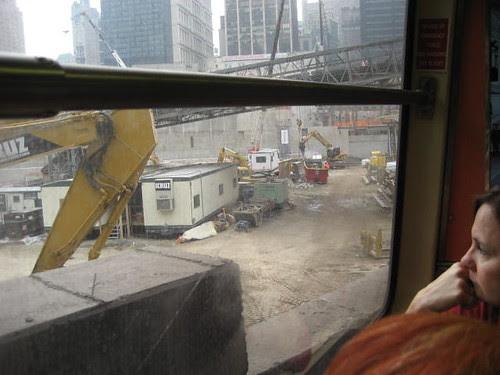 marilynn at ground zero, nyc