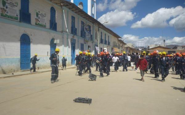Cajamarca, Paro en Cajamarca