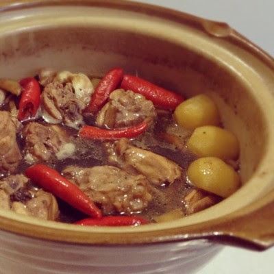 Having claypot tonight! :D #homemade #cookforfamily  (Taken with Instagram)