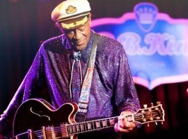 Lenda do rock and roll, Chuck Berry morre aos 90 anos