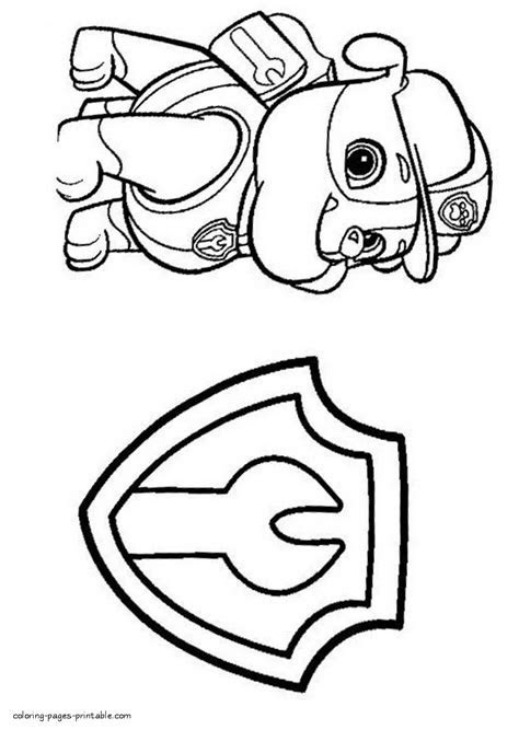 Coloring Book Activity Pages Paw Patrol Coloring And Activity Book