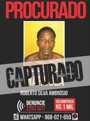 Portal oferecia R$ 1 mil por denúncia (Foto: Portal dos Procurados/Reprodução)
