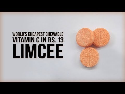 Vitamin C LIMCEE - Cheapest Chewable Vitamin C in Rs. 1