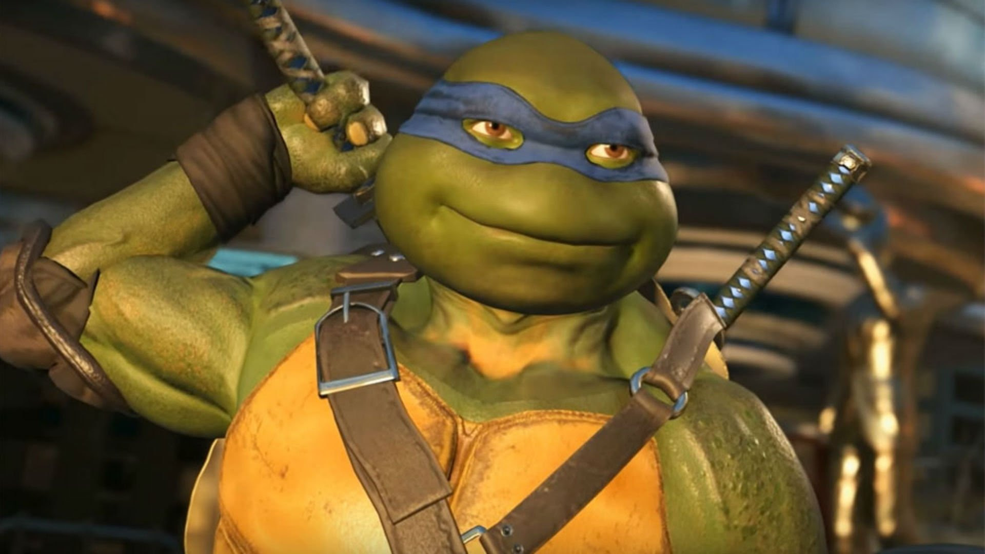 The Teenage Mutant Ninja Turtles are now available in Injustice 2 screenshot