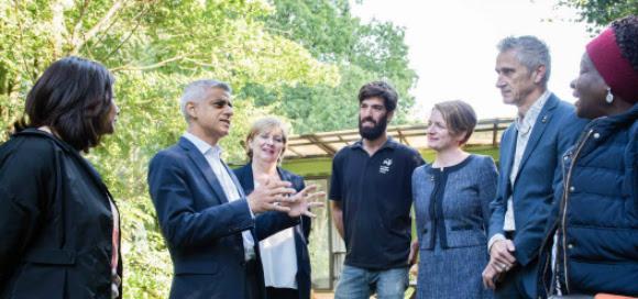 Mayor of London Sadiq Khan (credit Nathaniel Legall)
