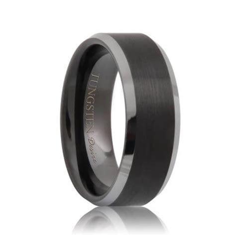 Mens Tungsten Wedding Bands & Tungsten Rings For Men