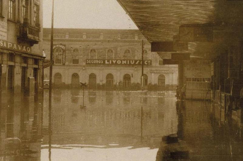 O mercado em 1941, ano da enchente  :imagem 3