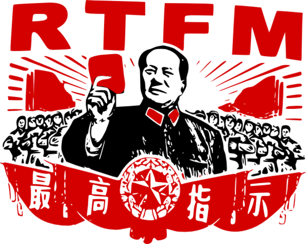 Image result for rtfm