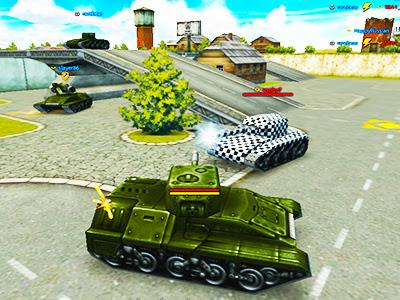 Online Tank Savaşı Oyunu Tanki Online şehirde Savaş Yapma 3d