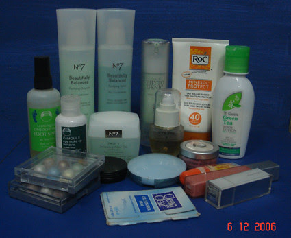Beauty Cosmetics from Clean & Clear Series