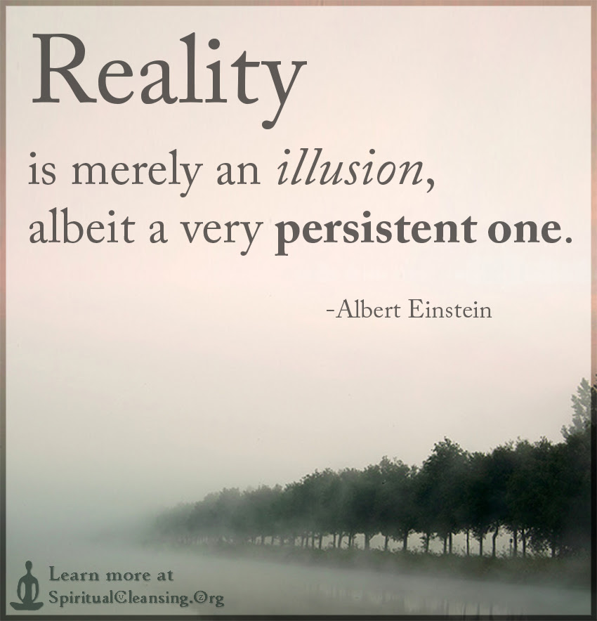 Reality Is Merely An Illusion Albeit A Very Persistent One
