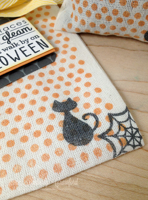 Halloween Treat Bags cu 3 Reverse Confetti by Kimberly Crawford