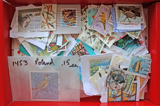 Gifted stamps