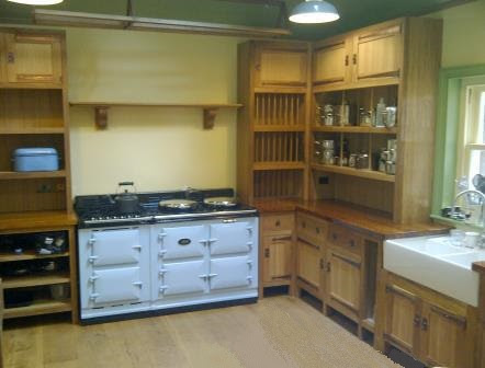 New Arts Crafts Movement Cfa Voysey Style Fitted Unfitted Kitchen Furniture