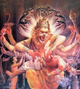 Lord Narasimha Ugra