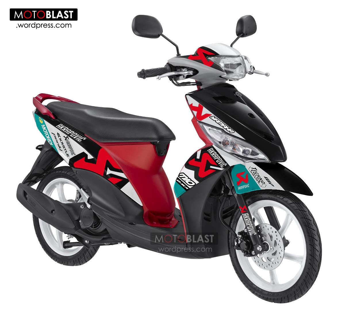Koleksi Modifikasi Motor Mio Cutting Stiker Terbaru ...