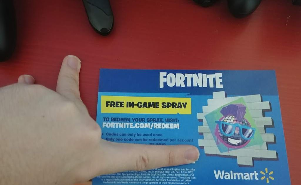 Walmart Is Giving Away Free Fortnite Sprays Here S How To
