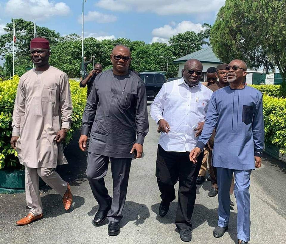 'South-East Governors Never Against Peter Obi's Candidacy' – Ikpeazu