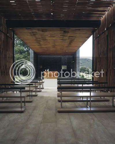 The chapel in La Calera 7