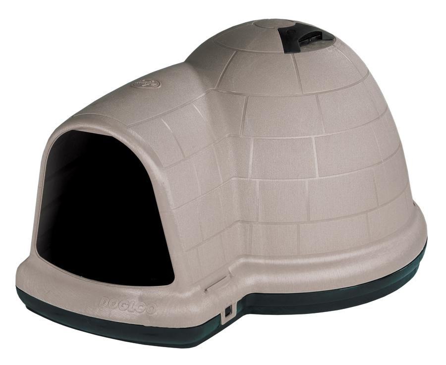 Amazon.com : Petmate Indigo Dog House with Microban, Medium, Taupe ...
