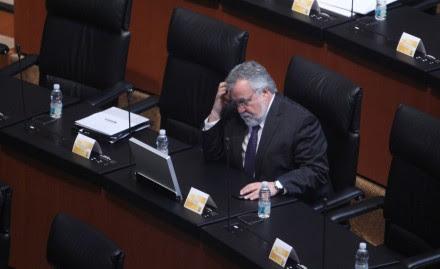 El senador Alejandro Encinas Rodríguez. Foto: Benjamin Flores