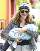 Teresa Palmer and son Bodhi Rain got out for a bit of shopping with her mom in LA March 1, 2014 x44 HQ's